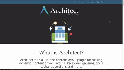Architect all in one content layout plugin for wordpress what malvernweather Images